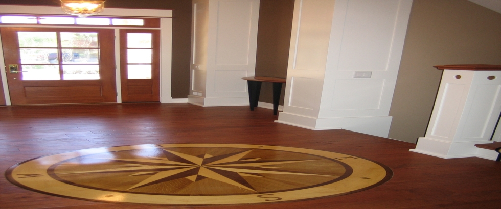 wood medallion on classiccarpets medallions flooring images veneer pinterest floor closeview hardwood best paganio the