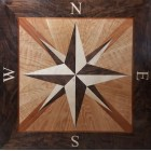 SyBrunson Square Floor Inlay